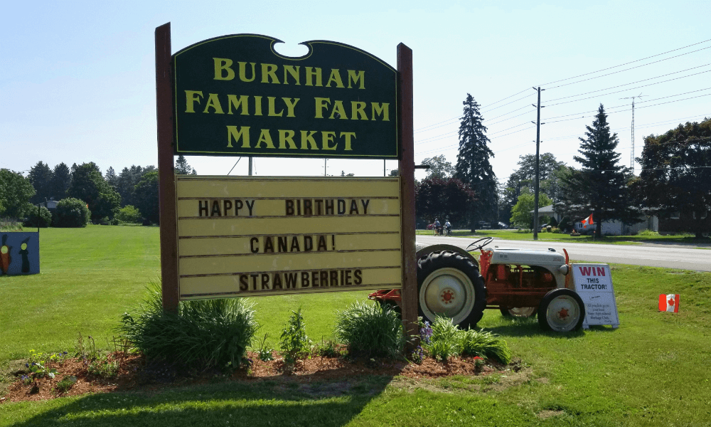 Burnham Family Farm Market