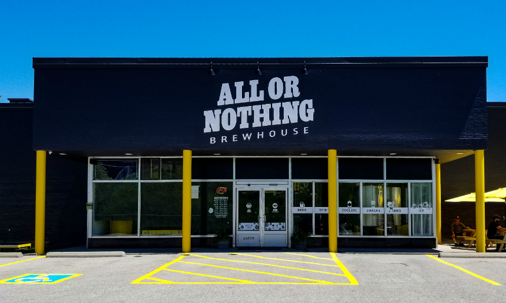 "All or Nothing Brewhouse – ""Do It With Passion or Not At All"""